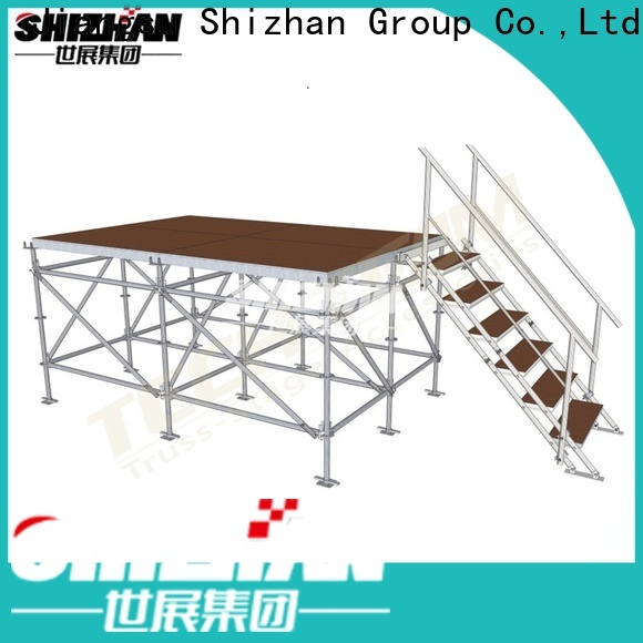 ISO9001 certified aluminium stage trader for party