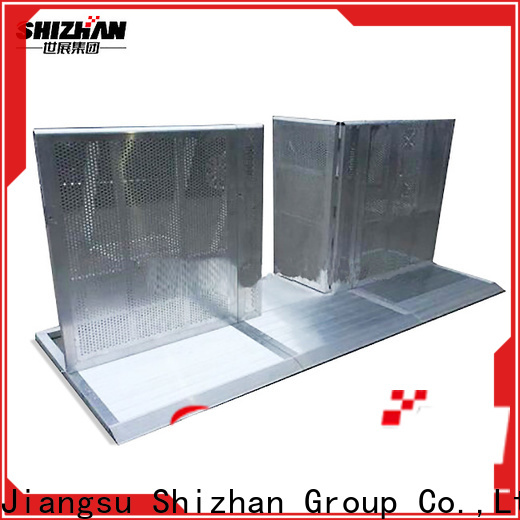 Shizhan metal barrier chinese manufacturer for sporting events