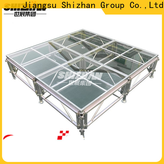 Shizhan ISO9001 certified outdoor concert stage factory for event