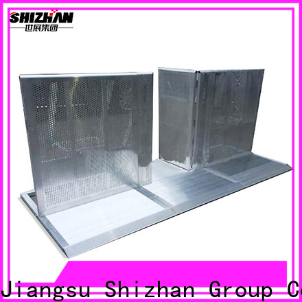 Shizhan affordable safety barricade supplier for sporting events