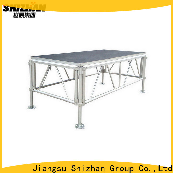 Shizhan adjustable stage manufacturer for event