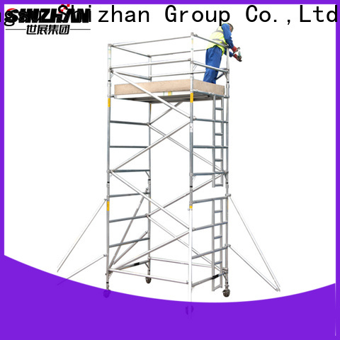 Shizhan 100% quality steel scaffolding exporter for construction