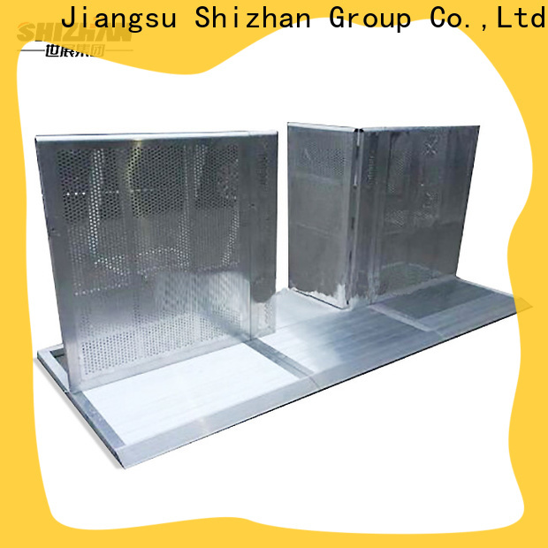 custom crowd control barricade chinese manufacturer for event