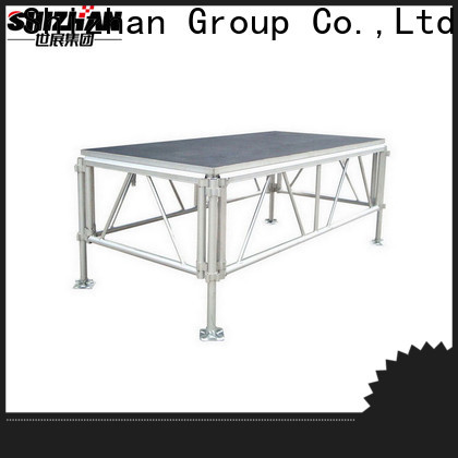 Shizhan 100% quality mobile stage factory for sale