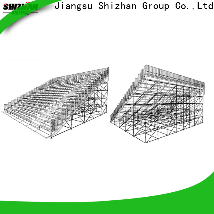 Shizhan custom mobile bleachers bulk purchase for stadium
