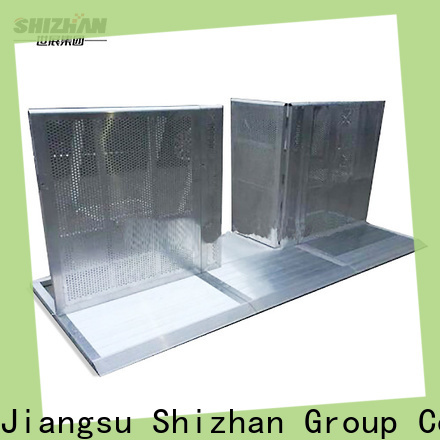 Shizhan metal barricade supplier for sporting events