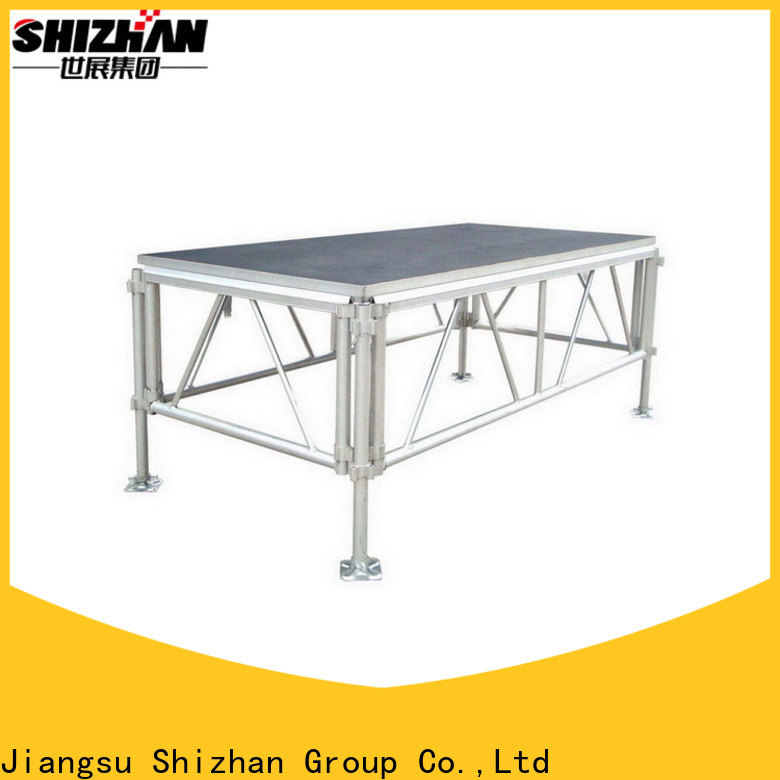 Shizhan ISO9001 certified moveable stage factory for sale