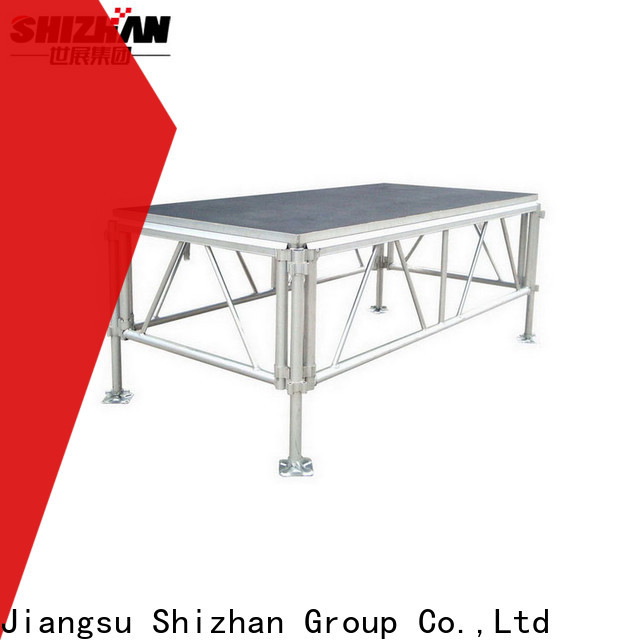 Shizhan modern modular stage platform factory for event