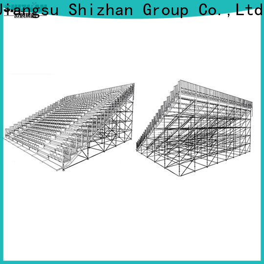 Shizhan outdoor bleachers from China for sports