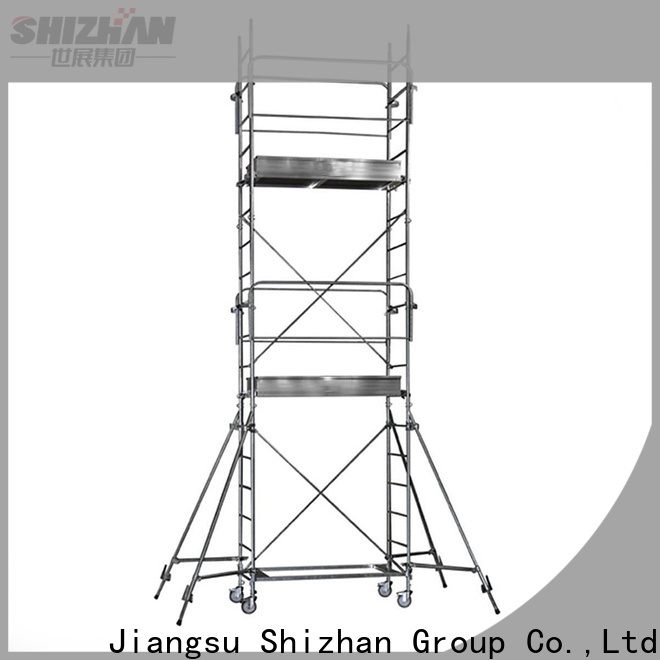 Shizhan 100% quality aluminum scaffolding exporter for importer