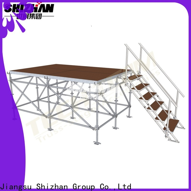 Shizhan ISO9001 certified movable stage platform trader for party