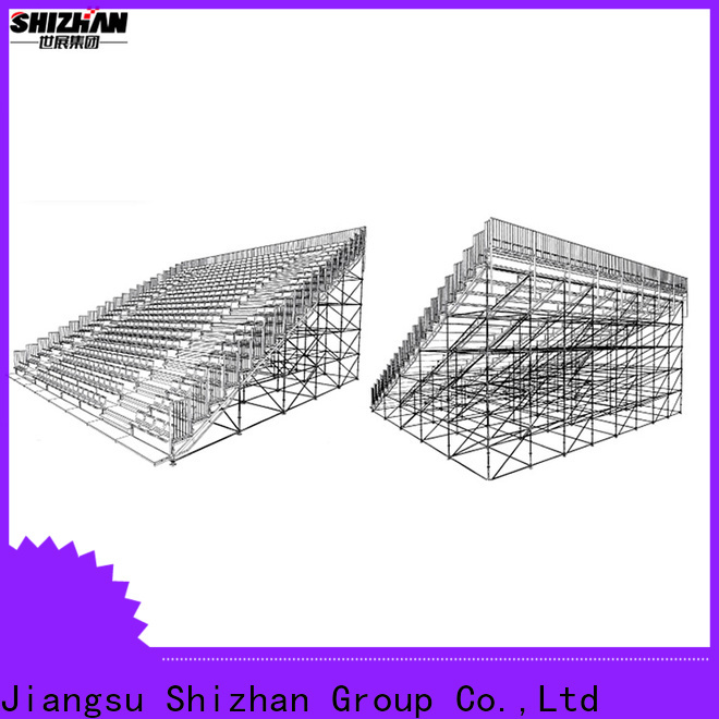 new outdoor bleachers from China for gym