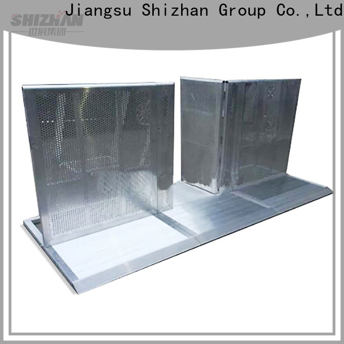 Shizhan crowd barriers chinese manufacturer for concert