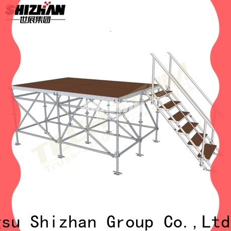 Shizhan 100% quality adjustable stage trader for party