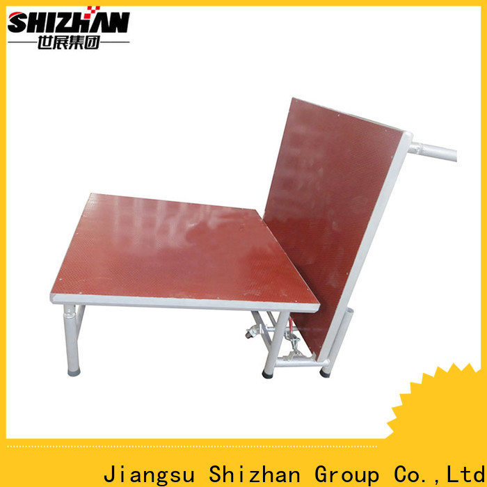 Shizhan ISO9001 certified aluminium stage manufacturer for event
