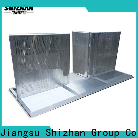 Shizhan safety barricade chinese manufacturer for concert