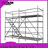 Shizhan aluminum scaffolding exporter for house building