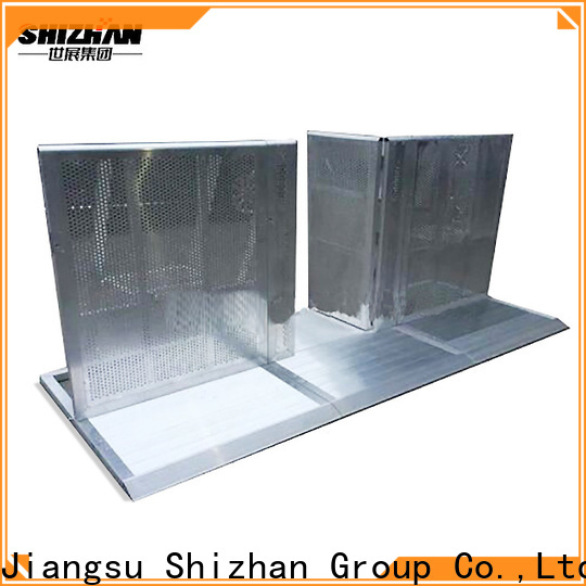 Shizhan TUV certified crowd control barriers supplier for sporting events